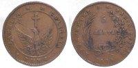 Cu 5 Lepta 1828 Griechenland Johannes Capodistrias 1828-1831. Sehr schön  225,00 EUR  zzgl. 5,00 EUR Versand
