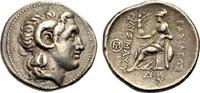 Tetradrachmon 280-265 v.Chr. THRAKIEN LYSIMACHOS Sehr schön  880,00 EUR  zzgl. 3,00 EUR Versand