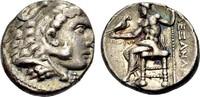 Tetradrachmon 320-316 v.Chr. MAKEDONIEN Alexander d. Gr. Sehr schön  165,00 EUR  zzgl. 3,00 EUR Versand