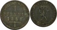 1 Pfennig 1858 (A) Deutschland/ Reuß jüngere Linie Heinrich LXVII. 1854... 8,00 EUR  zzgl. 2,20 EUR Versand
