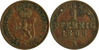 1 Pfennig 1868 Deztschland/ Reuß ältere Linie Heinrich XXII. 1859-1902 ... 8,00 EUR  zzgl. 2,20 EUR Versand