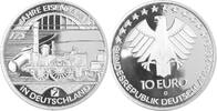 10 Euro 2010 D Deutschland, BRD 175 Jahre Eisenbahn in Deutschland PP o... 20,00 EUR  plus 4,50 EUR verzending