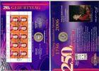 Deutschland 10 Euro Numisblatt 1/2006 - 250. Geburtstag von Wolfgang Amadeus Mozart