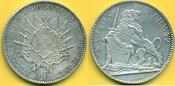 5 Franken 1867 Schweiz Schützentaler Schwy...