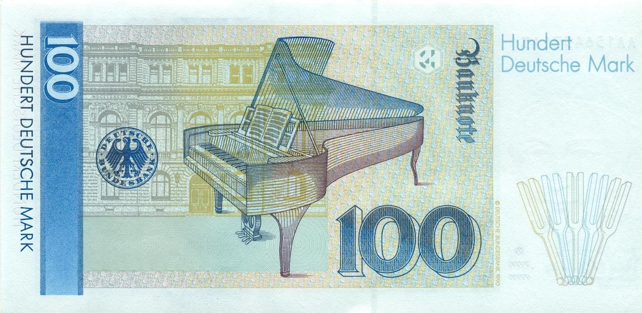 Pin 100 Deutsche Mark 211970 M on Pinterest