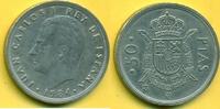 50 Peseten Pesetas PTAS 1984 Spanien JUAN CARLOS - selten ss-vz  25,00 EUR  plus 3,00 EUR verzending