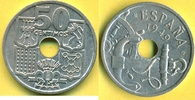 50 Centimos 1949 (51) Spanien Selten, mit Pfeilen, Francisco Franco 194... 23,00 EUR  plus 3,00 EUR verzending