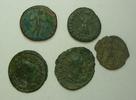 Lot  Römisches Kaiserreich Lot über 5 verschiedene undatierte Bronzemün... 35,00 EUR inkl. gesetzl. MwSt., zzgl. 4,50 EUR Versand