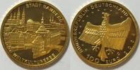 100 € 2004 D BRD Bamberg 15,55 g st in org. Verpackung  725,00 EUR kostenloser Versand