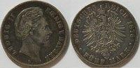 5 Mark 1876 Kaiserreich Bayern 5 Mark Kursmünze Ludwig II ss  59,00 EUR inkl. gesetzl. MwSt., zzgl. 4,50 EUR Versand