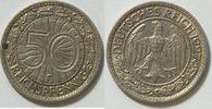 50 Pf 1927 F Weimar  ss  9,00 EUR inkl. gesetzl. MwSt., zzgl. 2,95 EUR Versand