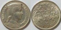 5 Lati 1931 Lettland  vz  35,00 EUR inkl. gesetzl. MwSt., zzgl. 4,50 EUR Versand