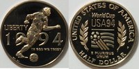 1/2 $ 1994 P USA Fußball WM PP  9,00 EUR inkl. gesetzl. MwSt., zzgl. 2,95 EUR Versand