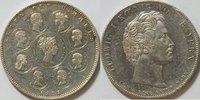 1 Taler 1828 Bayern Geschichtstaler vz Randfehler  310,00 EUR kostenloser Versand