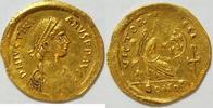 Semissis o.J. Byzanz Kaiser  527 - 565 n. Chr. 2,02 g Gold ss  445,00 EUR kostenloser Versand