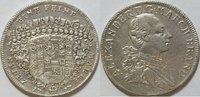 1 Konventionstaler 1777 Brandenburg Ansbach Christian Friedrich Karl Al... 275,00 EUR kostenloser Versand