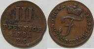 3 Pfennig 1781 Waldeck Karl August Friedrich  1763 - 1812 ss  25,00 EUR inkl. gesetzl. MwSt., zzgl. 4,50 EUR Versand