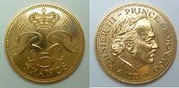 5 Francs 1971 Monaco     Münze mit orginal Verpackung  st Orignal Etui  1159,00 EUR kostenloser Versand
