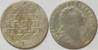 1/6 Taler 1766 Preussen Friedrich II. der Große (1740-1786) s  35,00 EUR inkl. gesetzl. MwSt., zzgl. 4,50 EUR Versand