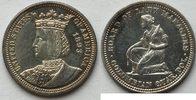 1/4 $ 1893 Isabelle Quarter  au vz-st leicht berieben  550,00 EUR kostenloser Versand