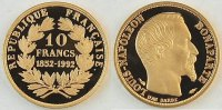 Frankreich 10 Franc Nachprgung 