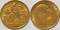 1/2 Pfund 1907 Großbritannien   ss  185,00 EUR  zzgl. 4,50 EUR Versand