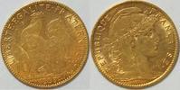 10 Francs 1906  Frankreich  3. Republik 1870-1940 ss  160,00 EUR  zzgl. 4,50 EUR Versand