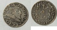 Polen 3 Gr&ouml;scher 1592 s  Sigismund 59,00 EUR inkl. gesetzl. MwSt., zzgl. 4,00 EUR Versand