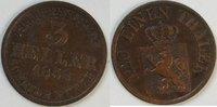 3 Heller 1858 Hessen  ss  11,00 EUR inkl. gesetzl. MwSt., zzgl. 4,50 EUR Versand