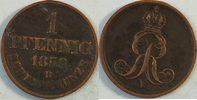1 Pf 1858 B Hannover  ss  7,00 EUR inkl. gesetzl. MwSt., zzgl. 2,95 EUR Versand