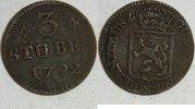 3 Stuber 1792 PR Jülich Berg Karl Theodor 1742-1799 ss  30,00 EUR inkl. gesetzl. MwSt., zzgl. 4,50 EUR Versand