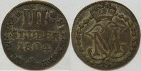 3 Stüber 1804 Berg Maximilian IV Josef 1799 -1806 ss  35,00 EUR inkl. gesetzl. MwSt., zzgl. 4,50 EUR Versand