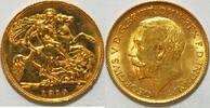 1/2 Pfund 1914 Grossbritannien Georg V ss berieben  185,00 EUR  zzgl. 4,50 EUR Versand