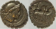 Denar 79 v. Chr. Römische Republik C. Naevius Balbus ss  125,00 EUR inkl. gesetzl. MwSt., zzgl. 4,50 EUR Versand