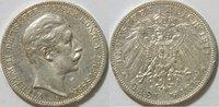 3 Mark 1911 Kaiserreich Preussen 3 Mark Wilhelm II Kursmünze ss    Rand... 18,00 EUR inkl. gesetzl. MwSt., zzgl. 4,50 EUR Versand