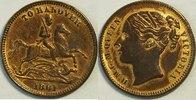 1/2  Pfund 1861 Hannover unter Grossbritanien Probe  vergoldete Kupferp... 59,00 EUR inkl. gesetzl. MwSt., zzgl. 4,50 EUR Versand
