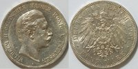 5 Mark 1907 Kaiserreich Preussen 5 Mark Wilhelm II Kursmünze ss - vz  39,00 EUR inkl. gesetzl. MwSt., zzgl. 4,50 EUR Versand