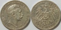 5 Mark 1907 Kaiserreich Preussen 5 Mark Wilhelm I Kursmünze ss  35,00 EUR inkl. gesetzl. MwSt., zzgl. 4,50 EUR Versand