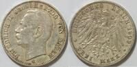 3 Mark 1909 Baden 3 Mark Kursmünze Baden Grossherzog Friedrich II ss  25,00 EUR inkl. gesetzl. MwSt., zzgl. 4,50 EUR Versand