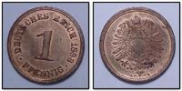 1 PF 1888 A Kaiserreich leicht oxydiert/fleckig bzw. Fingerabdruck, son... 40,50 EUR inkl. gesetzl. MwSt., zzgl. 4,50 EUR Versand