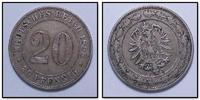 20 Pfennig 1888 J Kaiserreich  ss  35,00 EUR inkl. gesetzl. MwSt., zzgl. 4,50 EUR Versand