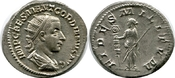 Antoninianus 238-244  Gordian III. vz