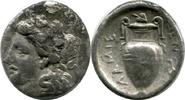 AR Hemidrachm. ca.400-344 BC. Griechenland Lamia, Thessaly. ss  80,00 EUR  zzgl. 9,00 EUR Versand