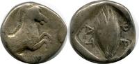 AR Hemidrachm. ca. 470-460 BC. Griechenland, Thessalian League. SS+  250,00 EUR  zzgl. 9,00 EUR Versand