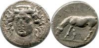 AR Drachm. ca.405-370 BC. Griechenland, Larissa, Thessaly. ss+  220,00 EUR  zzgl. 9,00 EUR Versand