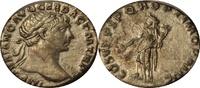 Denar 98-117 AD. Römische Kaiserzeit TRAJAN. XF+UNZ  110,00 EUR  zzgl. 9,00 EUR Versand