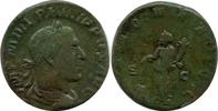 Æ Sestertius. AD. 247-549 Römische Kaiserzeit Philip I, SS+  140,00 EUR  zzgl. 9,00 EUR Versand
