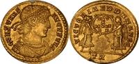 AV Solidus, AD.337-350 Römische Kaiserzeit CONSTANS, UNZ  1850,00 EUR Gratis verzending