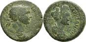 AE25 98-117 n.Ch Kilikien Traian und Marci...