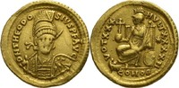Solidus 408-450 n.Chr. Konstantinopel Theodosius II 430-440 n.Chr. Prac... 980,00 EUR kostenloser Versand
